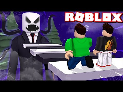ESCAPE SLENDERMAN OBBY in ROBLOX! *SCARY*