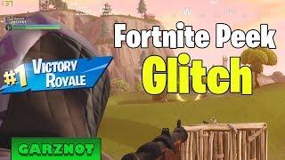 Peek Glitch Fortnite (! SUPER OP WITH HUNTING RIFLE!)