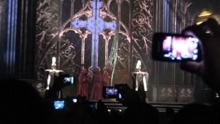 Madonna MDNA tour - The Prayer Ouverture: Act of Contrition in Amsterdam
