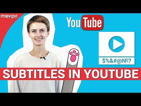 How to add subtitles to a YouTube video