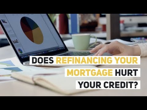 Does Refinancing Your Mortgage Hurt Your Credit?