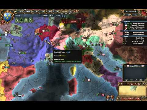 EU4 - Tutorial France 8 - France Takes The Technology Lead