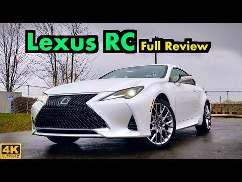 2019 Lexus RC 300: FULL REVIEW   Updates Bring LC Magic for 2019!