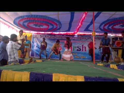 Kitchen Dance by Django Boys at SRSIT Bangalore....