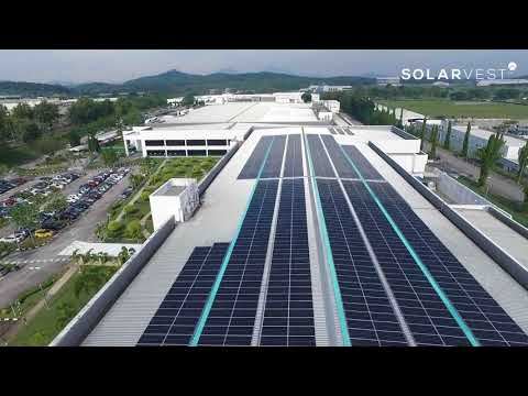 860kW Solar Roof Top & Car Port Project for MNC based in Malaysia