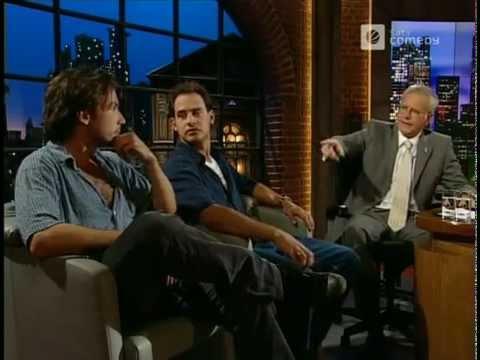 Moritz Bleibtreu und Lucas Gregorowicz bei Harald Schmidt Show - 23.08.2001