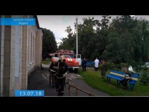 ТРК ВіККА: Пожежна муштра: на Черкащині вогнеборці приборкували уявне вогнище у лікарні