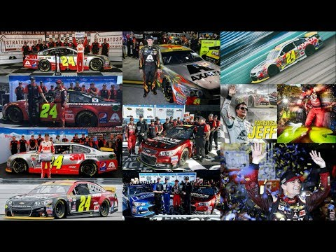 """Greatest Moments from Jeff """"Ironman"""" Gordon's Final 2015 Season: One Win and Four Poles JG Edit"""