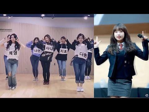 180519 위키미키 Weki Meki Yoojung 최유정 Dances To Twice, T-ara, WJSN, Momoland
