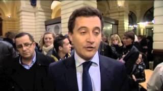 Réaction de Gérald Darmanin (UMP) à Tourcoing