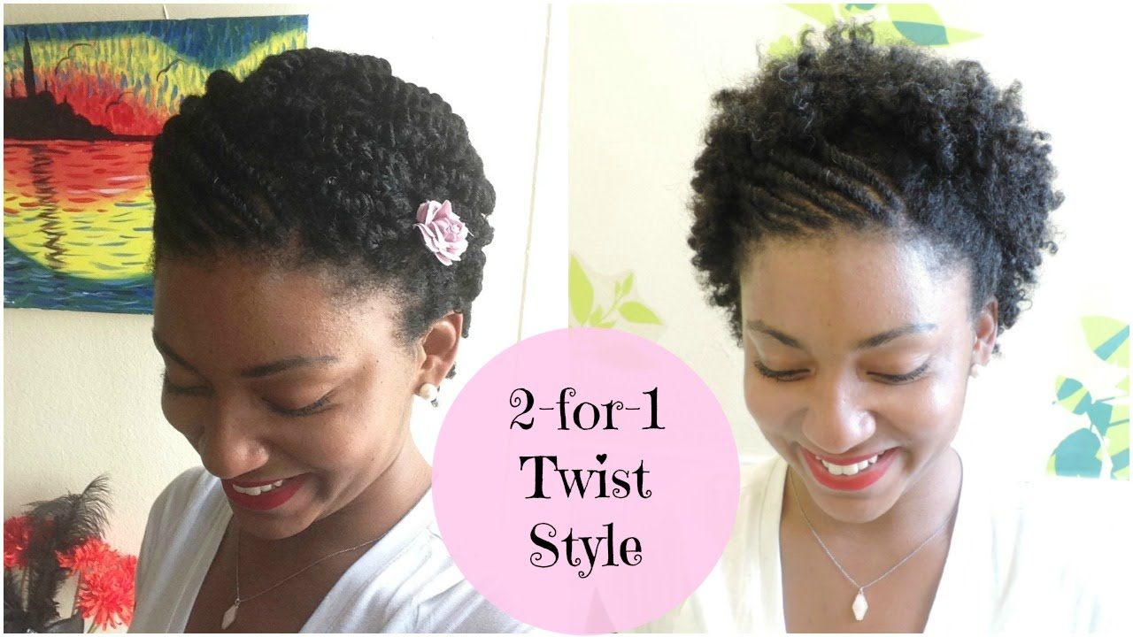 Flat Twist Hairstyles For Natural Hair My Hair Chronicles 14