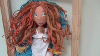 Daria and Svetlana Denisova Painting, textile doll. Дарья и Светлана Денисовы Живопись, Кукла