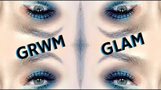 GRWM Full Glam Spring Summer Eyes Talk Through w LavonneBeauty   mathias4makeup