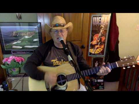 118c -  Lookin' For Love -  Johnny Lee cover - Vocal & acoustic guitar & chords