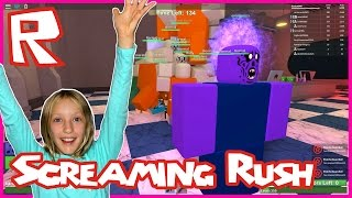 Insane Screaming Attacks on Minions in Zombie Rush Roblox