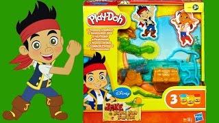 play doh jake and the neverland pirates treasure creations playdough playset hasbro toys
