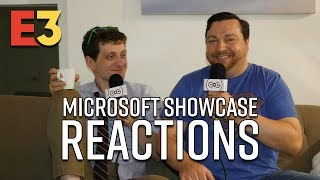 E3 2018 - Microsoft Showcase Reactions | Halo Infinite, Cyberpunk 2077, Gears 5
