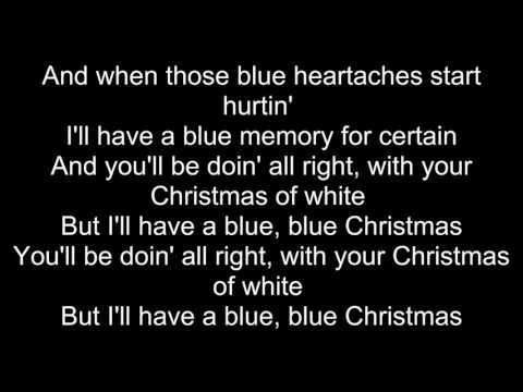The Lumineers - Blue Christmas (Lyrics)