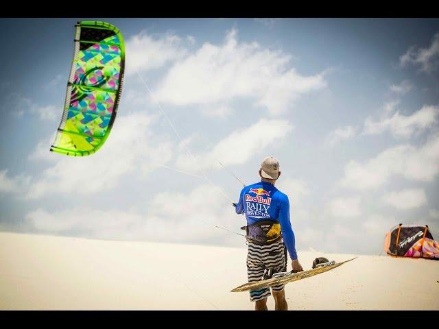Kiteboarding Race Across Brazilian Desert