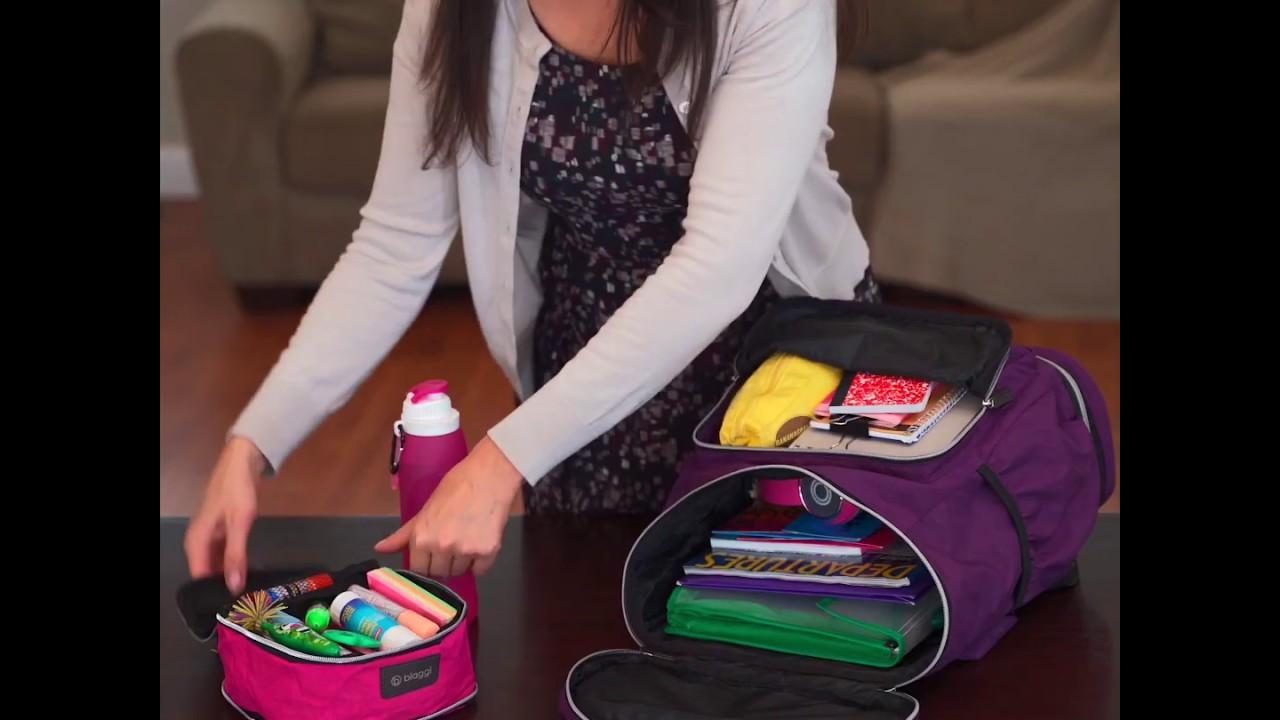 Zipsak On The Go Foldable Backpack Pack Like A Pro Youtube