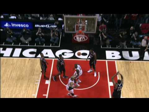Luol Deng Gives the Bulls the Win
