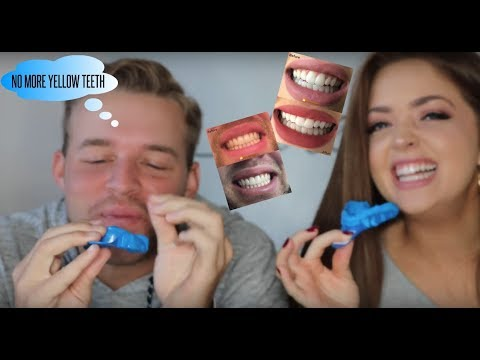 Funny Teeth Whitening Video with my Brother!