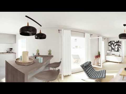Paris 11e (75011) - Passage Oberkampf // Visite virtuelle d'un 3 pièces