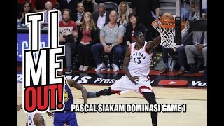 Time Out #263: Review Game 1 NBA Finals! Pascal Siakam Menggila!