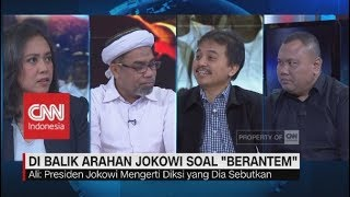 "Polemik Arahan Relawan soal ""Berantem"",  Demokrat: ""Jokowi, Next Be Careful!"""