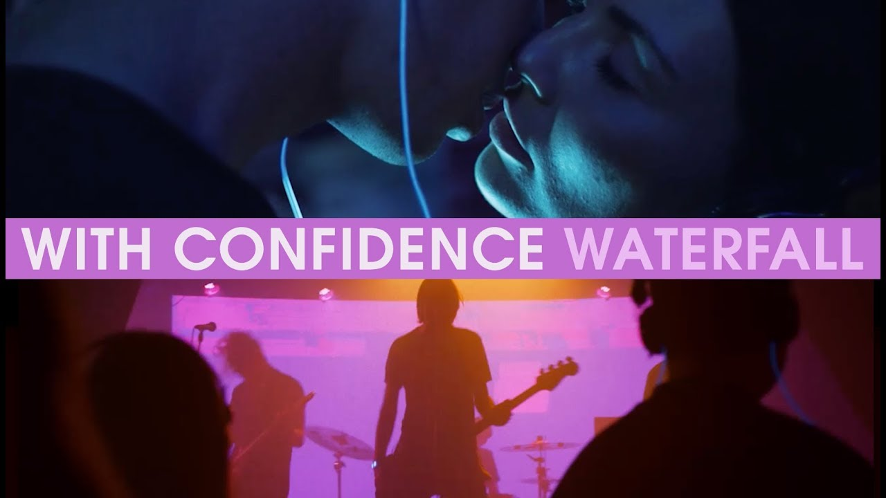 With Confidence - Waterfall (Official Music Video) #1