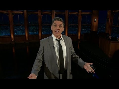 Late Late Show with Craig Ferguson 2/15/2012 Jon Cryer, Morena Baccarin