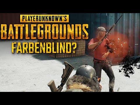 Farbenblinden-Modus Playerunknown's Battlegrounds Deutsch #35 PUBG Deutsch German