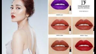 """Đập hộp"" BST SON MÔI Dreamer Mattle Lipstick của BẢO ANH"
