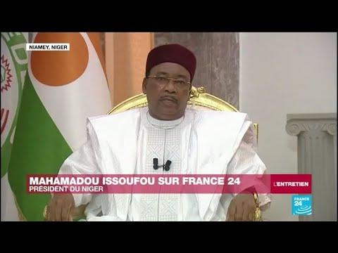 Mahamadou Issoufou sur France 24: