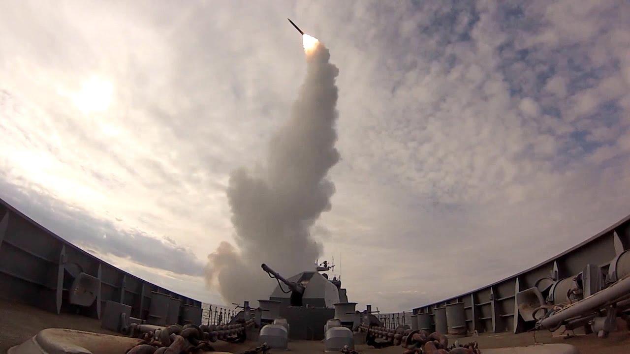 В Балтийском море состоялись ракетные пуски в рамках Государственных испытаний нового фрегата