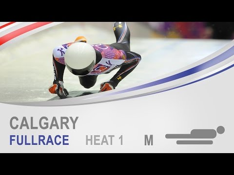 Calgary | Men's Skeleton Heat 1 World Cup Tour 2014/2015 | FIBT Official