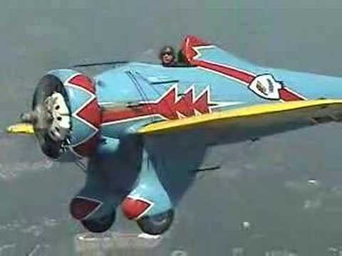 """Mayocraft P-26 """"tribute"""" aircraft in flight air to air"""