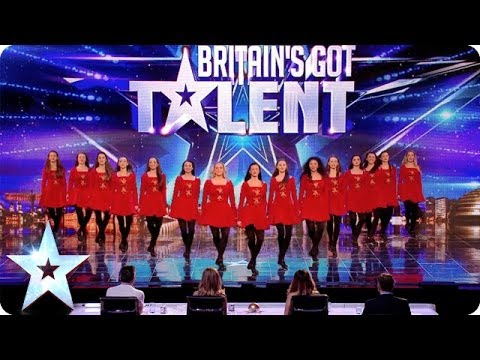 Thumbnail: Irish dancers surprise the Judges with their modern twist | Britain's Got Talent 2014