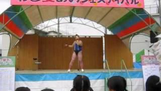 10.31 わき愛あいフェスティバルにて。 タンバリン芸人「ゴンゾー」