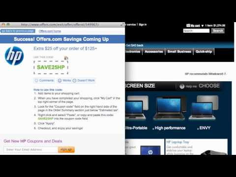 How To Use HP Coupons & Coupon Codes