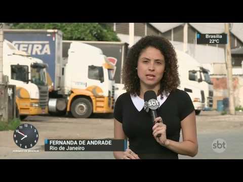 Quadrilha é presa com carga avaliada em R$ 5 milhões - SBT Brasil (06/05/17)