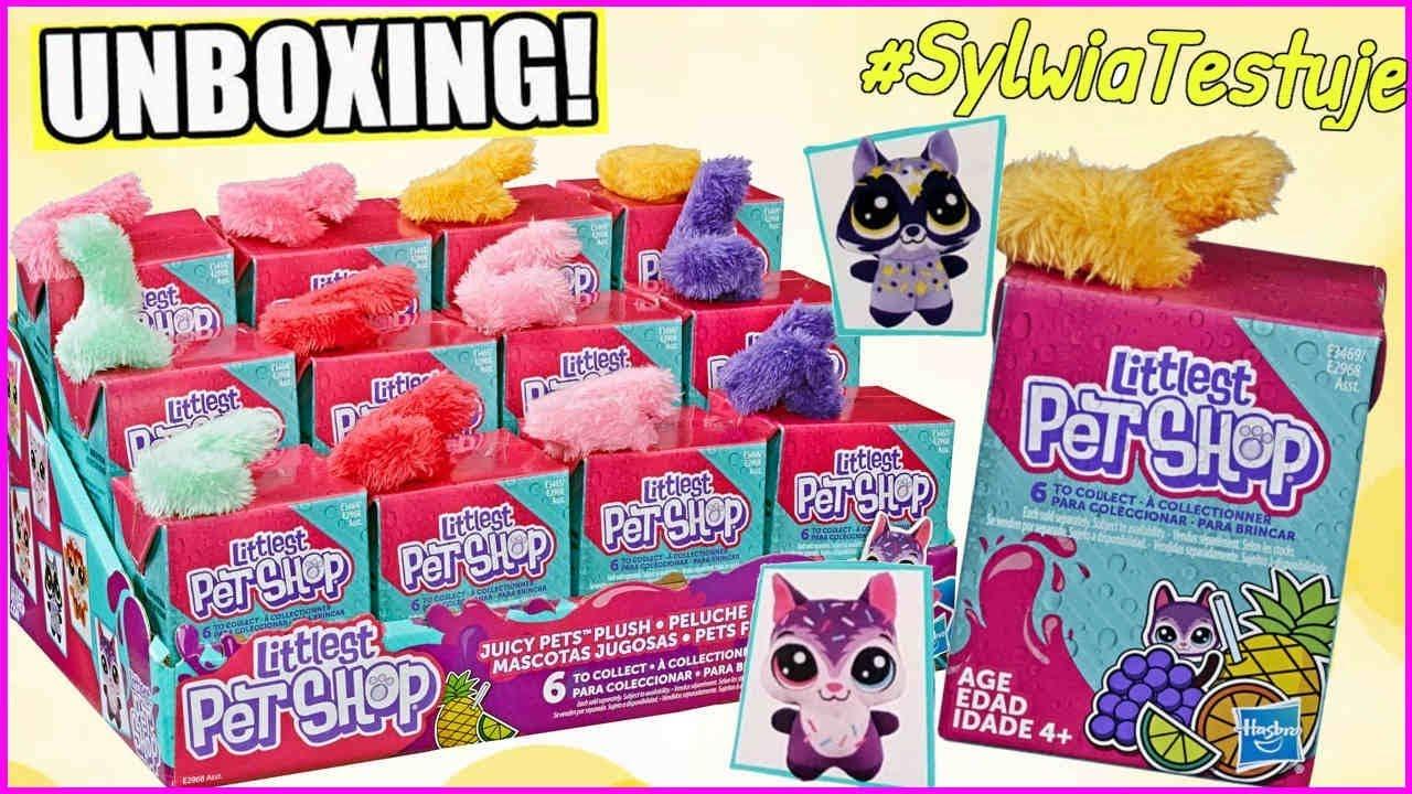???? Littlest Pet Shop ???? Soczki Pluszowe zwierzaki ???? Juicy Pets Plush ???? #SylwiaTestuje