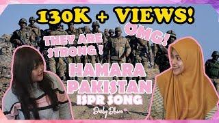 Indonesian Girl's Reaction to Hamara Pakistan ISPR Song Pakistan Army