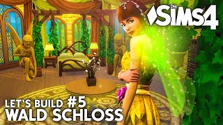 Die Sims 4 Wald Schloss bauen #5 | Natur Fee Schlafzimmer (deutsch)