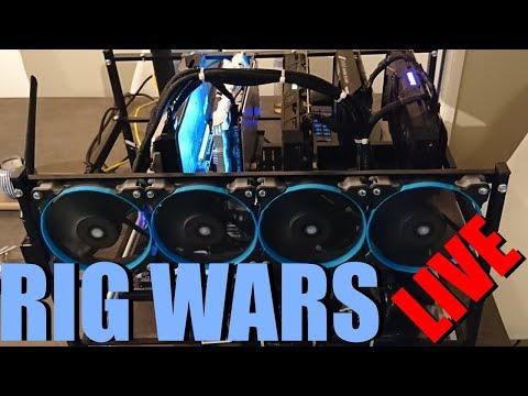 Mining Rig Wars Episode #15 LIVE!
