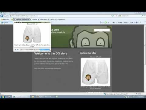 Internet Explorer 8: WebSlices in 3 minutes
