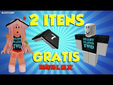 *2 ITENS GRÁTIS  no ROBLOX* SEM PROMOCODE DE ROBLOX!