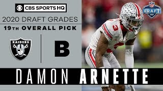The Las Vegas Raiders add a corner that PLAYS WITH ATTITUDE in Damon Arnette | 2020 NFL Draft