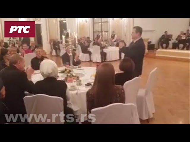 Dačić pevao i Erdoganu