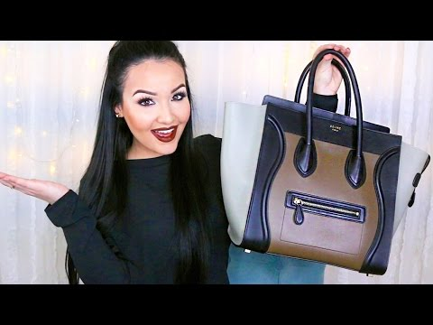 What's in my Bag?! ♡ Celine Mini Luggage